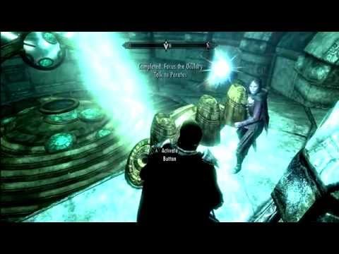 How to Focus the Oculory in Skyrim / Solve Mzulft Aedrome Puzzle Quest