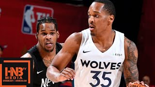 Brooklyn Nets vs Minnesota Timberwolves Full Game Highlights | July 14 | 2019 NBA Summer League