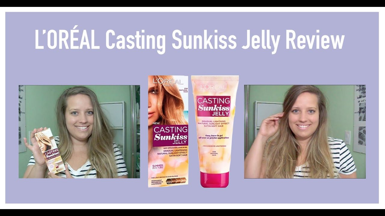 Casting Sunkiss Gele Eclaircissante L'Oral Paris M: L'Oreal Casting Creme Gloss Sunkiss Jelly