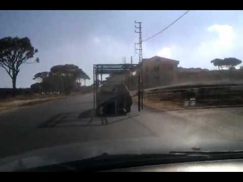 Funny car in ras el maten