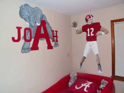 2009 Alabama Crimson Tide College Football Paintings Video