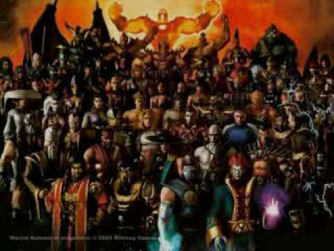 Mortal Kombat Theme (Metal Cover) by Ryashon
