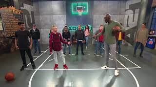 The Backpack Kid INSIDE THE NBA Appearance on Area 21 with KG