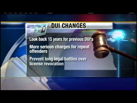 0 Unicameral Passes DUI Bills