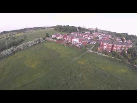 tbs discovery quadcopter , fpv naza, first flight, rmilec uhf radio,heywood