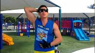 Playground Workout: Chest, Back and Abs (part 1 of 3) The Healthy Hero