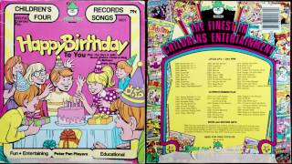 Happy Birthday To You (Peter Pan 45RPM) Hoop-A-Ding