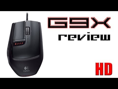 Logitech G9x Laser Gaming Mouse Review