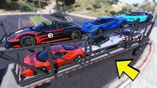 GTA 5 - Vận chuyển 6 chiếc siêu xe từ sân bay lên nhà trắng | ND Gaming