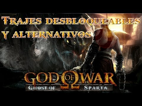 Guia 100% God Of War Ghost of Sparta | Trajes Desbloqueables y Secretos