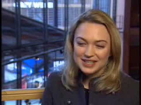 Sophia Myles Hallam Foe Interview