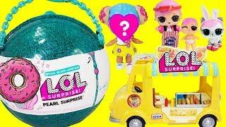 LOL Surprise Donut Ball Bakery Shop Hops Hot Dog Truck Little Hops & Hops Kittie