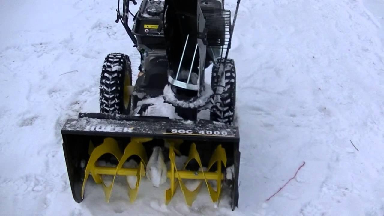 Ремонт снегоуборщика своими руками huter 23