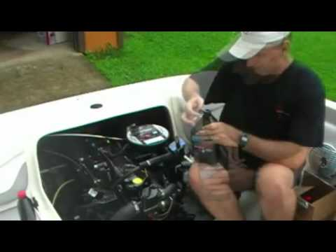 How to Change The Oil On Your IO Boat  