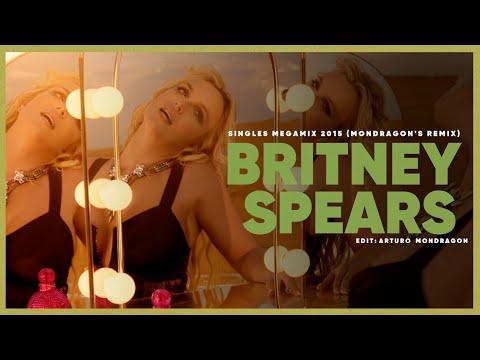 Britney Spears - Singles Megamix 2014 (Mondragon's Remix) - 1080i