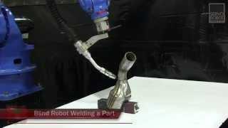 i-CUBE vs Blind Robot