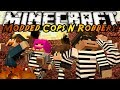 Minecraft Mini-Game MODDED COPS ROBBERS!