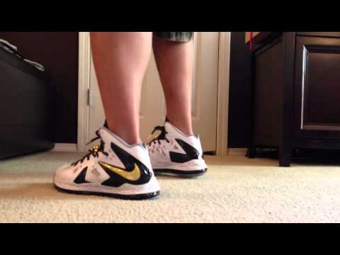Lebron X P.S. Elite + On Foot Review