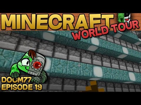 Heavy Metal Cruise Ship — The Minecraft World Tour — S4E019 | Docm77
