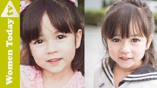 Mẹ Tết Tóc Đẹp Cho Bé Đến Trường Thêm Xinh   Cute Hairstyles For Little Girls.