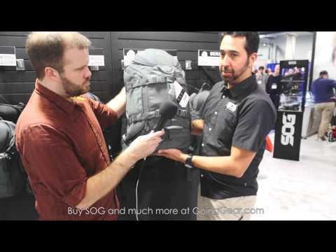 SHOT Show 2016 - SOG Backpacks/Bags