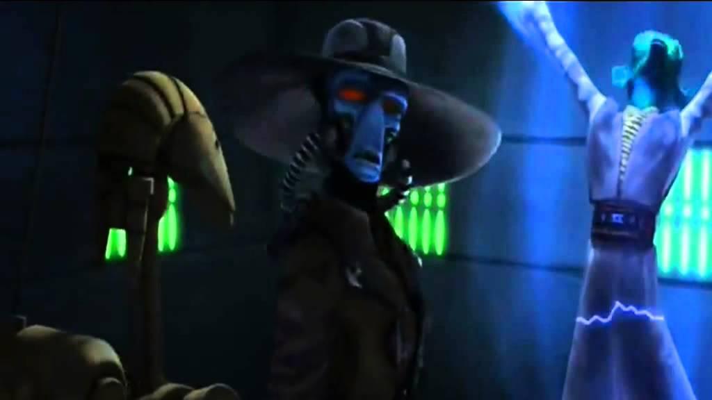 Star Wars The Clone Wars Gentelman Paraody Cad Bane Sings