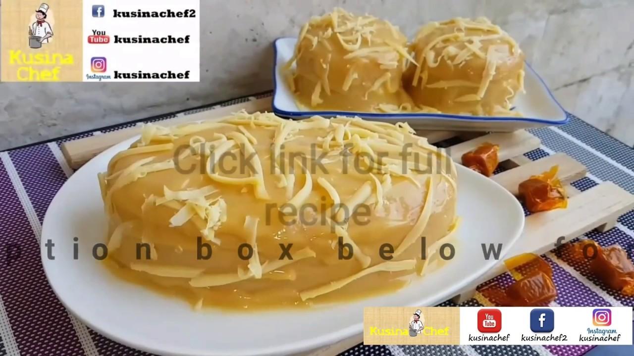 Watch How to Make Yema Cake video