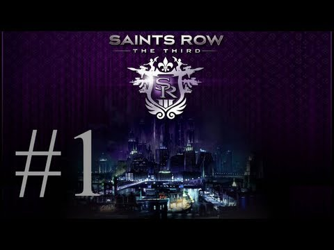 Saints Row The Third - Let's Play Thai part 1