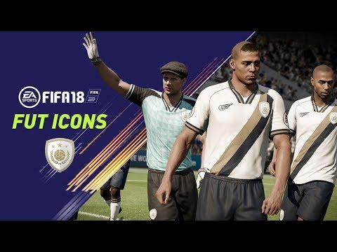 FIFA 18 | FUT ICONS | Ronaldo Nazário, Maradona, Henry, Yashin, Pelé