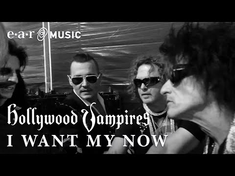 "Hollywood Vampires ""I Want My Now"" Official Music Video - New Album ""Rise"" OUT NOW"
