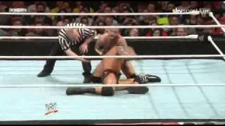 WWE RAW 04/18/11 Orton vs Punk PT1