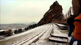 Colorado Trip with Family- Dinosaur Tracks, Red Rocks, Restaurants, Coors Brewery Tour, and Skiing