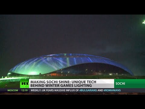 Shining Sochi: Unique tech behind winter games lighting