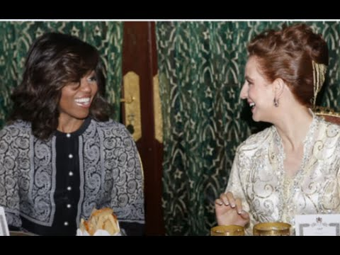 Michelle Obama, Daughters Travel to Morocco