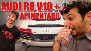 AUDI R8 V10 PLUS STAGE 2 COM LABAREDA (ft. ACF Performance) | VLOG #149