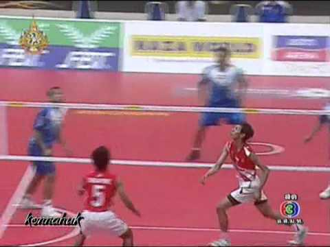 Singapore Vs India ''2011 Sepak Takraw World Cup' set 3