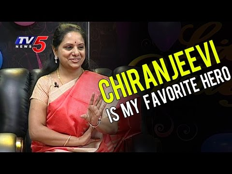 Chiranjeevi Is My Favorite Hero, I'm Waiting For Chiru 150th Film | MP Kavitha | TV5 News