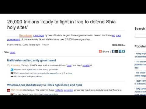 25 000 Indians Ready to Fight In Iraq to Defend Shia Holy Sites