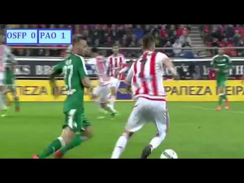 Olympiakos FC vs. Panathinaikos FC 3 - 1 ~ All Goals & Highlights ~ Superleague 13/03/2016