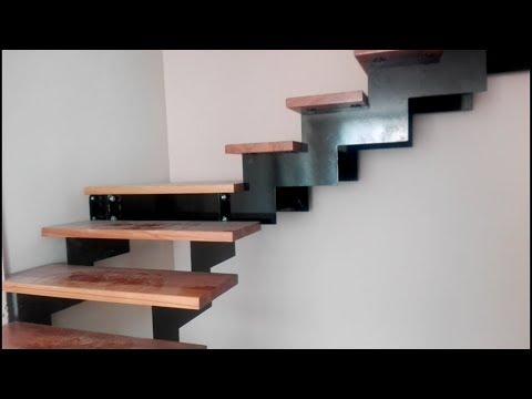 Металлическая модульная лестница. Обзор работы и особенности монтажа. Как собрать лестницу? Фильм 2