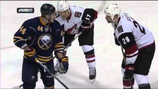 John Scott Tries to Fight Deslauriers - Downie Roughs up Legwand
