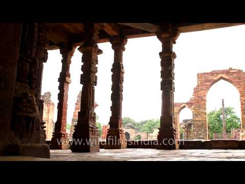 Qutub Minar and the complex