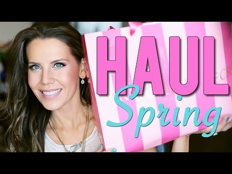 SPRING HAUL | Victoria's Secret, Forever 21, TJ Maxx & More!