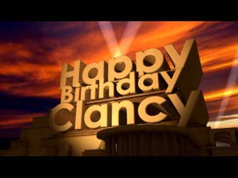 Happy Birthday Clancy