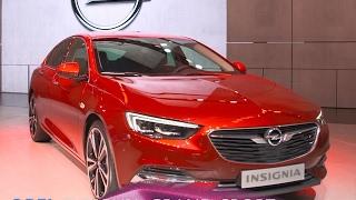 Opel Insignia Grand Sport et Insignia Sports Tourer en direct du salon de Genève 2017
