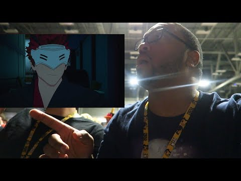 RWBY Volume 6 Adam Character Short Reaction (From RTX 2018)