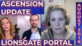 ASCENSION UPDATE: LIONSGATE PORTAL AUGUST 2018 - WHAT IS A STARSEED - MULTIDIMENSIONALITY