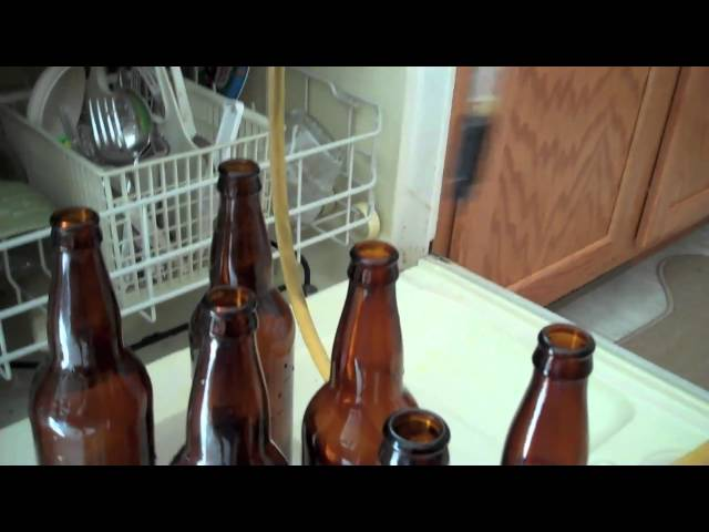 Beer making 101, Bottling