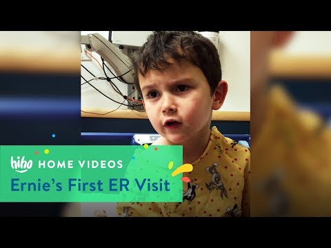 Ernie's First ER Visit | Home Videos | HiHo Kids