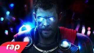 Rap do Thor - A IRA DE UM DEUS | NERD HITS
